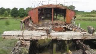 Wreck of Trawler on River Medina, Isle of Wight