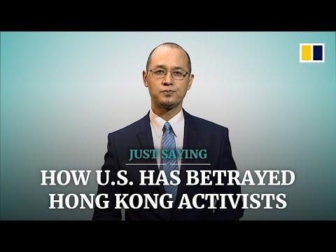 How the US has betrayed Hong Kong activists