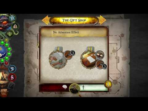 Playing Elder Sign: Omens - Azathoth Ancient One