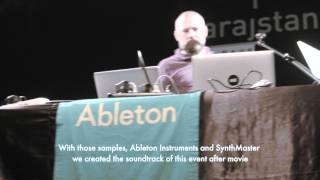 Ableton Live 9.5 & Push 2 Release Event Istanbul Turkey