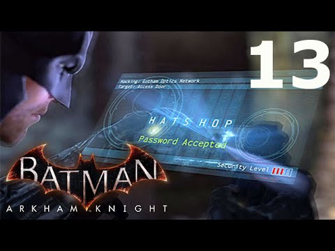Batman ARKHAM KNIGHT PlayThrough Part 13 - Stagg Enterprises Airships - XBOX ONE
