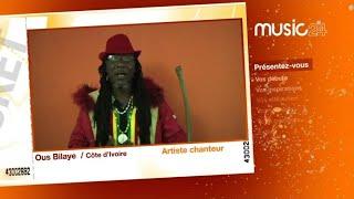 MUSIC 24 - Côte d'Ivoire : Ousbilaye, artiste-chanteur de reggae