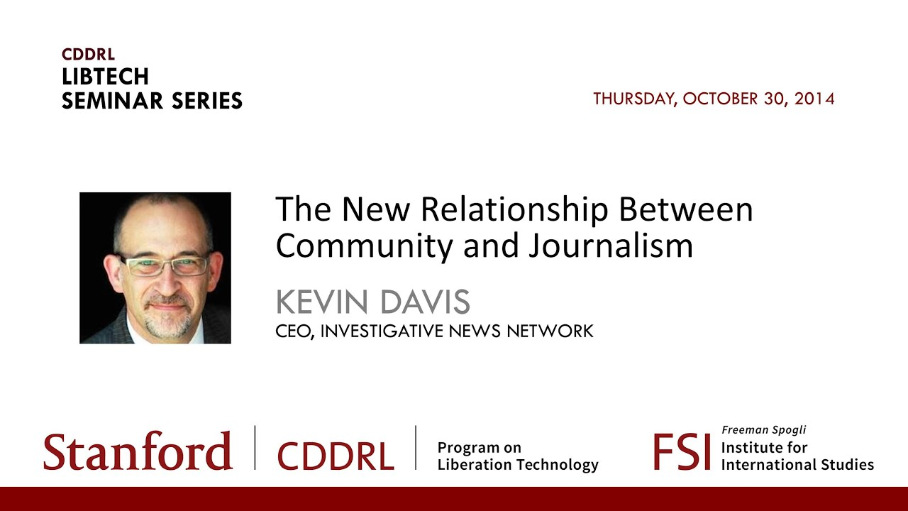 relationship between community journalism and broadcasting