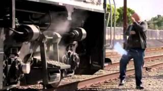 Jim vs. the train! No Ordinary Family - ABC.mp4