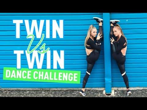 Twin VS Twin - Dance Add-On Challenge! | The Rybka Twins