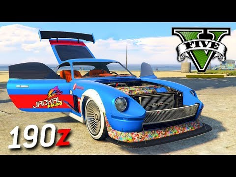 GTA V Online: O NOVO CARRO TUNADO 190z!!! (100% MODIFICADO)