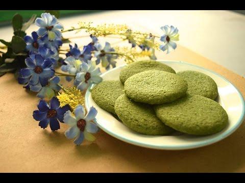 Bánh quy trà xanh/matcha greentea cookies