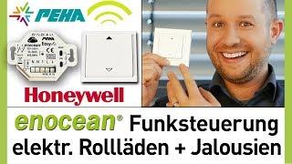 Funksteuerung für elektrische Jalousien + Rollladen - Honeywell PEHA EnOcean EasyClick