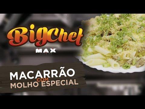 Big Chef Max Titanium - Macarrão Com Molho Especial