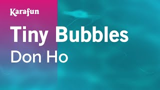 Karaoke Tiny Bubbles - Don Ho *