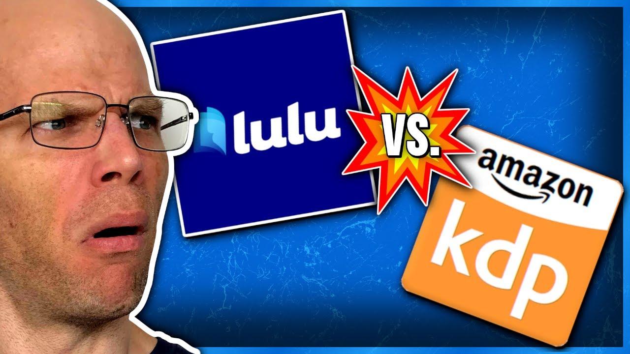 79455c1cf5a748 Lulu vs KDP Print | Self Published Book Unboxing - YouTube