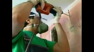 Как сделать штробу в стене?