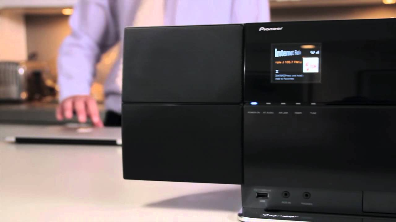 Pioneer X Smc3 K Ipod Iphone Dock With Airplay Youtube