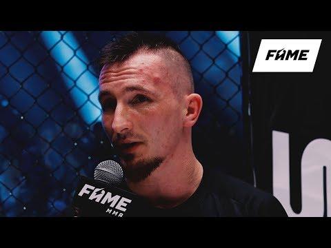 FAME MMA 5: Isamu (wywiad w oktagonie)