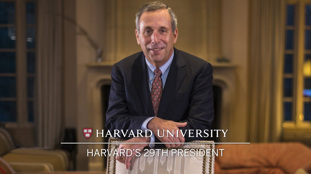 Harvard names Lawrence S. Bacow as 29th president - YouTube