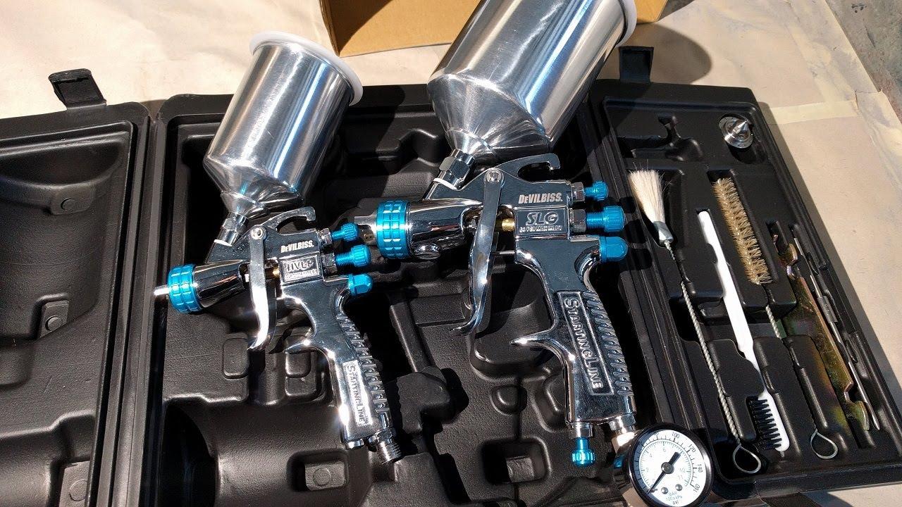 Devilbiss Starting Line Budget Spray Gun Review