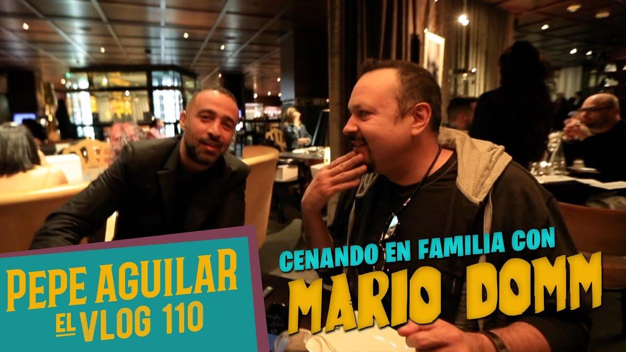 Pepe Aguilar - El Vlog 110 - Cenando en familia con Mario Domm