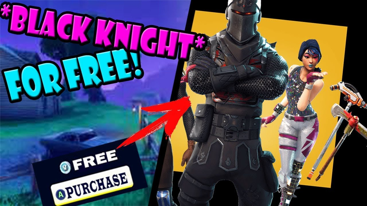 How To Get The Black Knight For Free In Fortnite Battle