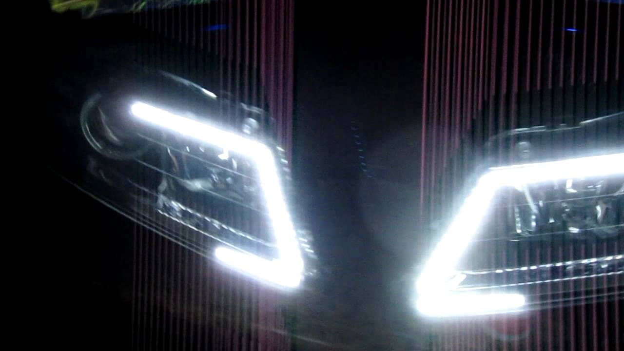 Acura TL Custom DRL Signal Switchback Headlights By ZLEDs YouTube - Acura tl aftermarket headlights