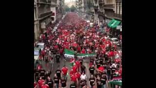 Magyar szurkolók Marseille-ben