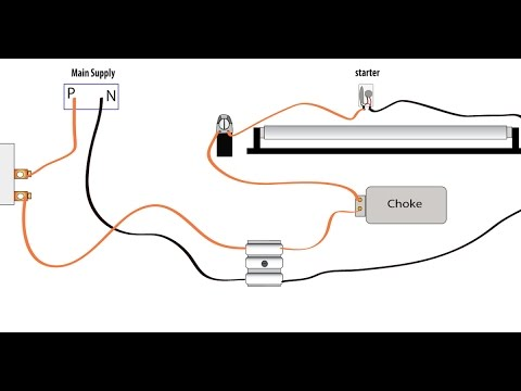 TAMIL Tube light working and connection explaining clearly