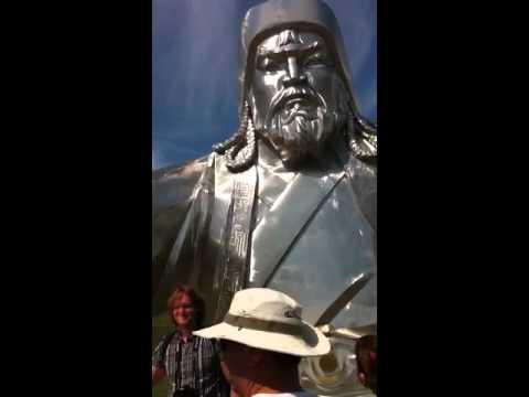 Chinggis Khan Monument, Mongolia 7.9.11