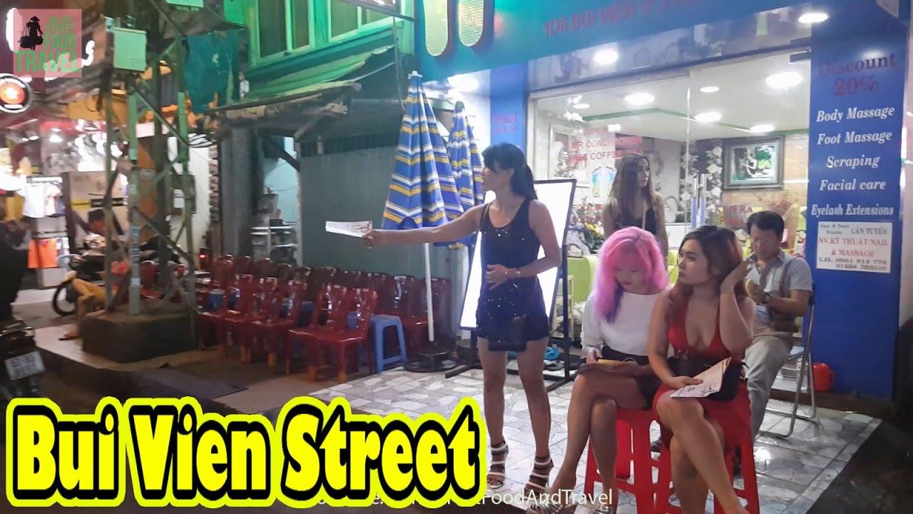 Bui Vien Street Famous Backpacker Street in Saigon