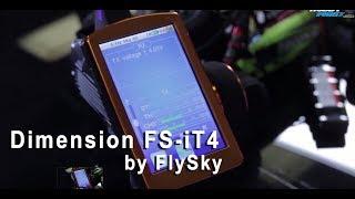 Dimension FS-iT4 by FlySky Radio Setup Tutorial on Car
