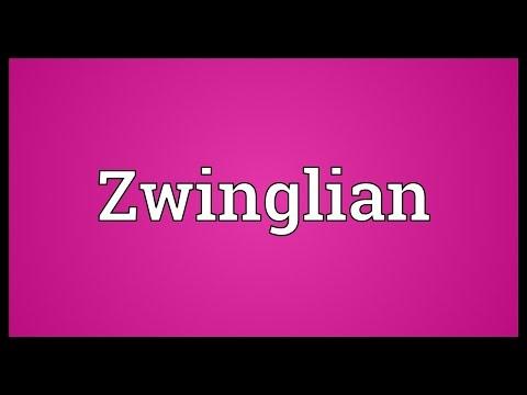 Header of Zwinglian