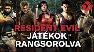 Resident Evil-játékok a legrosszabbtól a legjobbig
