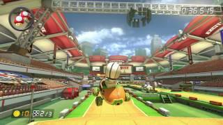 Excitebike Arena - 1:33.852 - HD ◆ SFX (Mario Kart 8 World Record)