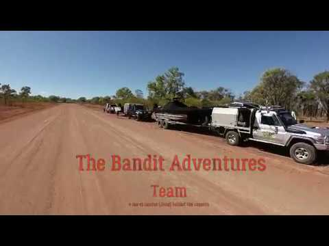 Bandit Adventures, The Kimberley trip Ep 1, Jet boat in the Kimberley, Jet boat on the Ord River