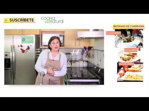 Recetas de botanas fáciles y económicas para cuaresma