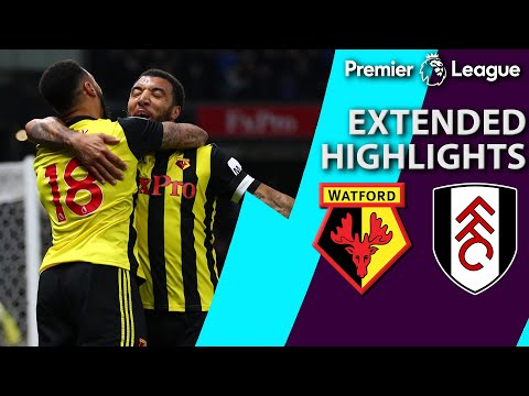 Watford v. Fulham | PREMIER LEAGUE EXTENDED HIGHLIGHTS | 4/2/19 | NBC Sports