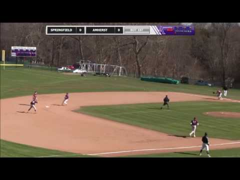 Springfield College vs Amherst Baseball - 3/30/2016