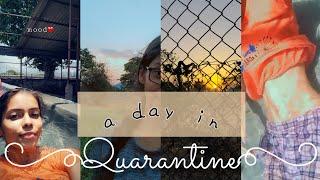 Gambar cover A day in quarantine|vedikajaokar| How I spend my Quarantine|
