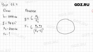 Упр 16.4 - Физика 9 класс Пёрышкин