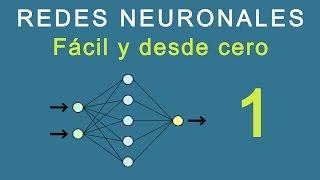 1.- Redes Neuronales: Fácil y desde cero