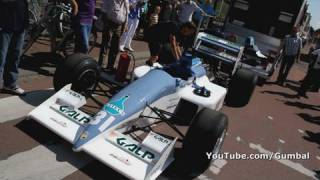 Arie Luyendijk  driving a Coloni Formula 1 car!! Start up + drive by !! 1080p HD