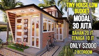 Bangun Rumah 30 Juta Edisi Tiny House Low Budget