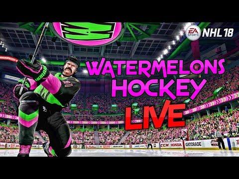 Going for Div 1 title #25 NHL 18 3V3 EASHL LIVE STREAM | WATERMELONS Hockey | RCS GAMING