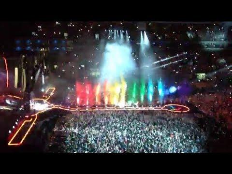 Show do Coldplay em São Paulo 07/11/17 - Estádio Allianz Parque