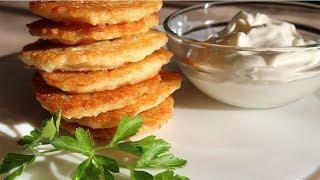 Драники картофельные  Бабушкин рецепт
