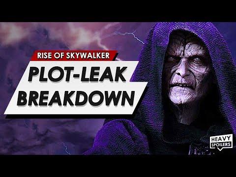 Star Wars: The Rise Of Skywalker Leaked Plot Breakdown |  How Palpatine Returns & Ending Explained