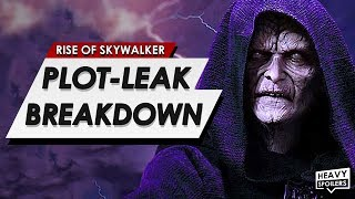 Star Wars: The Rise Of Skywalker Leaked Plot Breakdown |  How Palpatine Returns & Ending Explained
