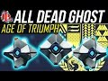 Destiny ALL NEW DEAD GHOSTS in AGE OF TRIUMPH Dead Ghosts Locations Guide ALL DEAD GHOST in AOT