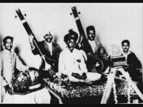 """Utd. Abdul Karim Khan - Natyageet """"Prem Seva Sharan"""" (based on Raag Bhimpalas)"""