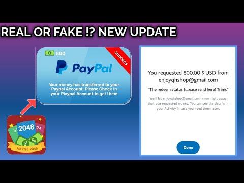Redeem 2048 Card - Bisa Masuk Paypal !?