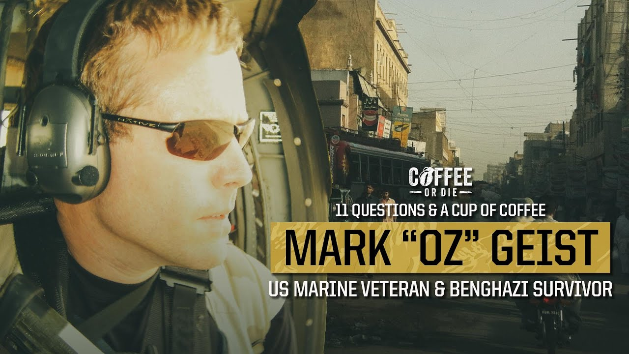 "11 Questions & A Cup of Coffee: Mark ""Oz"" Geist — US Marine and Benghazi Survivor"