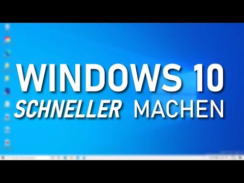 Windows 10 schneller machen: Die wichtigsten Tipps & Tricks